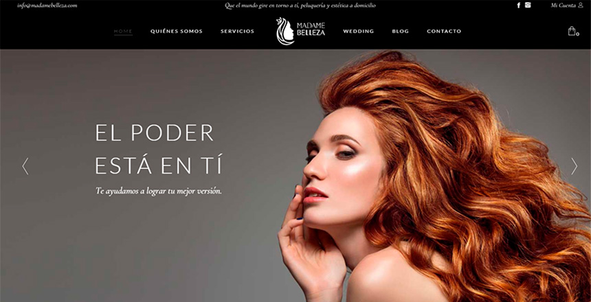 Proyecto Ecommerce para Madame Belleza